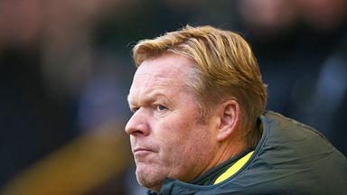 Ronald Koeman: Southampton have performed admirably under Dutchman