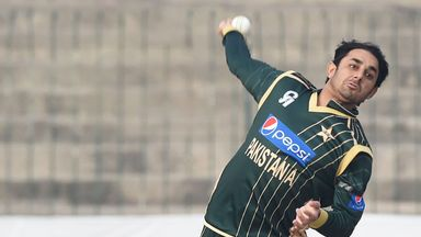 Saeed Ajmal: Has been cleared to resume his international career