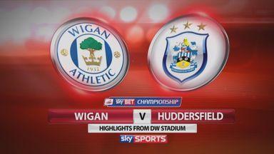 Wigan 0-1 Huddersfield
