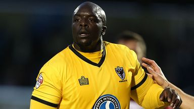 Adebayo Akinfenwa: Supported Liverpool as a youngster