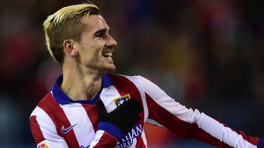 Antoine Griezmann put the visitors ahead after just seven minutes