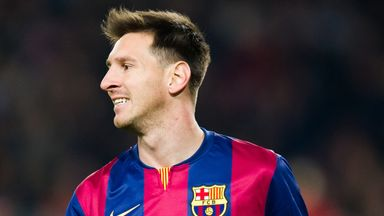 """Lionel Messi: Admitted to """"challenging"""" times"""