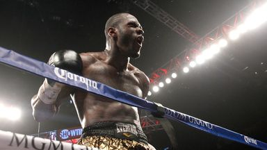 Deontay Wilder: The most recently crowned heavyweight world champion