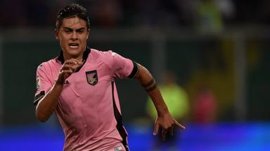 Paulo Dybala: Argentine striker drawing rave reviews in Serie A this season