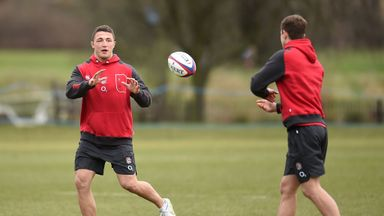 Sam Burgess: Starts for Saxons against the Wolfhounds on Friday night