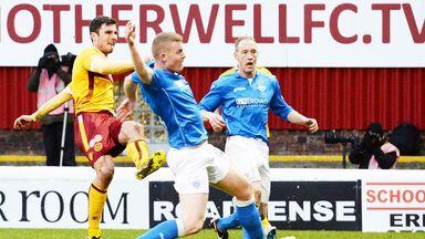John Sutton: Scores for Motherwell against St Johnstone