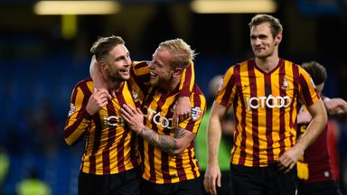 Bradford City: Three wins away from a Cup final at Wembley