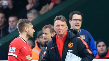 Louis van Gaal: The Manchester United manager continues to deal with injuries to his players