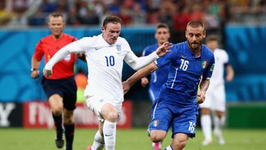 England and Italy went head-to-head at the World Cup last summer