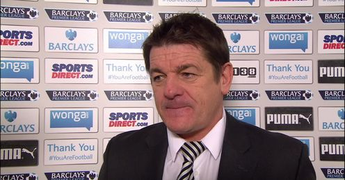 John Carver: Newcastle boss until the summer - at least