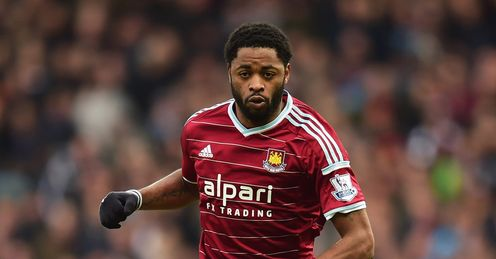 Alex Song: Looks set to stay at West Ham