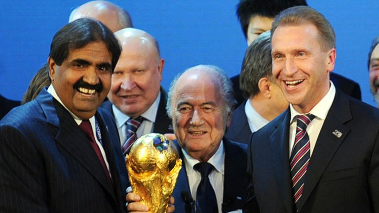 Qatar won the World Cup hosting rights in 2010