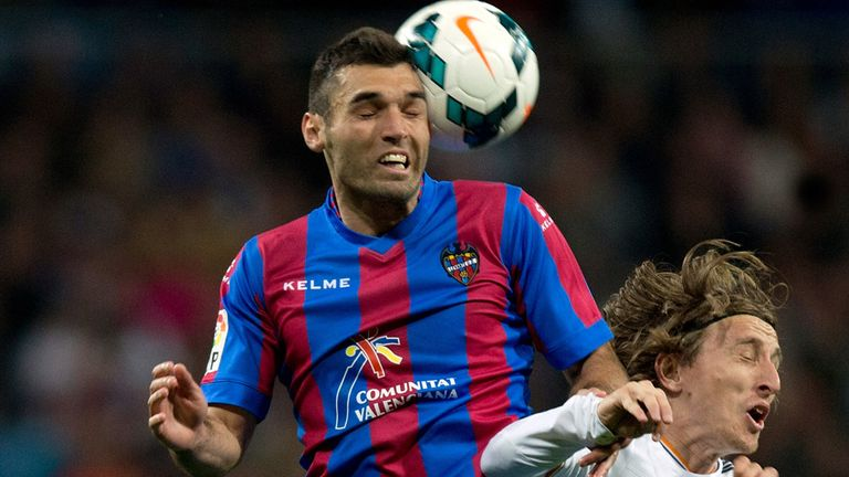 David Barral was on target for Levante