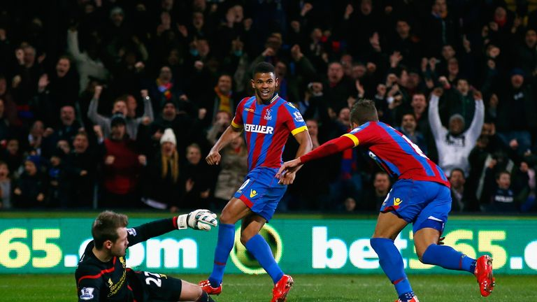 Palace are currently bottom of the Premier League form table