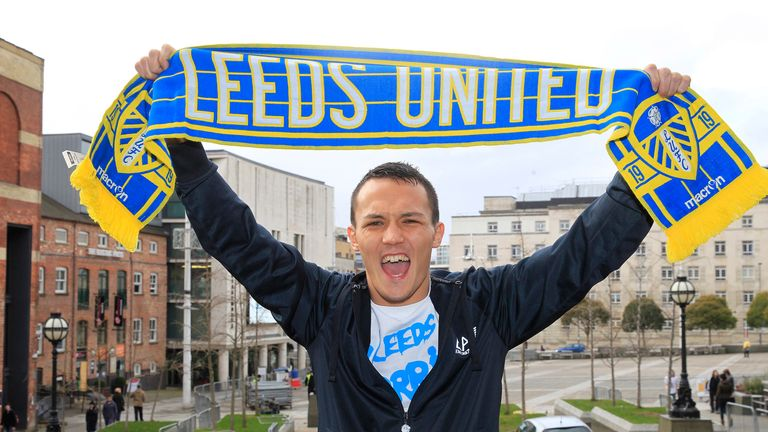 Josh Warrington is Leeds fan but Lee Selby would be happy to take him on at Elland Road