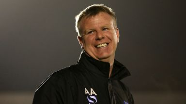 Andy Awford: Up for Manager of the Month