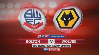Bolton 2-2 Wolves