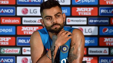 Virat Kohli: The batsman was accused of verbally abusing a reporter who had not written the article which had upset him.
