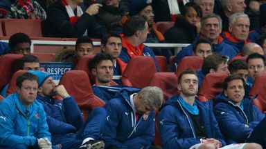 Arsene Wenger: Arsenal manager still feels hurt by Monaco's Champions League win at the Emirates Stadium on Wednesday