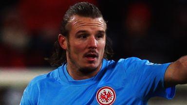 Alexander Meier: Helped Eintracht Frankfurt claim victory