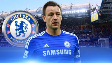 John Terry has captained Chelsea to within touching distance of the title