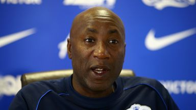 QPR manager Chris Ramsey speaks to the media