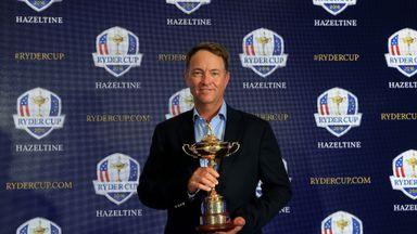Davis Love: Will skipper the Americans at Hazeltine in 2016