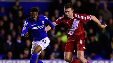 Demarai Gray (l): Birmingham hope he will sign a new deal
