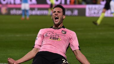Franco Vazquez: Secured Palermo's victory