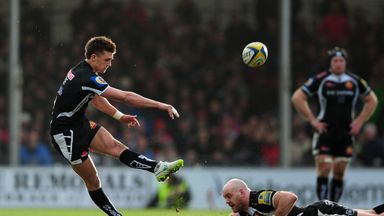 Henry Slade: Kicked three penalties and a conversion