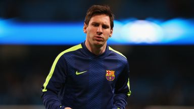 Lionel Messi: Made public statement on Barca future last month