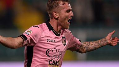 Luca Rigoni: Scored for Palermo