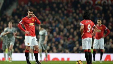 Robin van Persie and Radamel Falcao: have failed to hit top goalscoring form this year