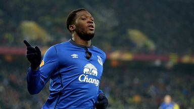 Romelu Lukaku: Wants to play in the Champions League