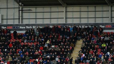 A library picture from New York Stadium taken in January
