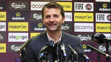 Tim Sherwood: Won a £100 bet with our reporter Pete Colley regarding the club's ownership