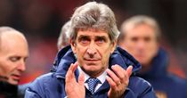 Manuel Pellegrini: Wants to cut Chelsea's lead at the top to two points with Anfield win