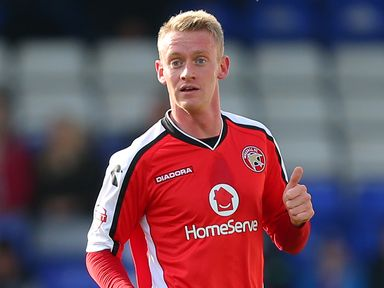 Ashley Grimes: Rare and vital goal for Walsall