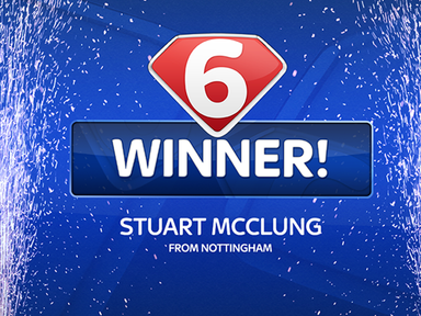 Stuart McClung from Nottingham is the latest Super 6 winner