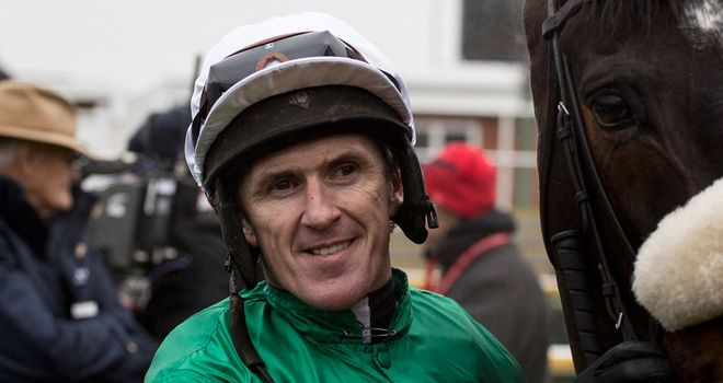AP McCoy after riding Mr Mole to victory at Newbury