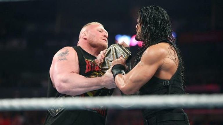 Neither Brock Lesnar Or Roman Reigns Left Levis Stadium With The WWE World Heavyweight Championship
