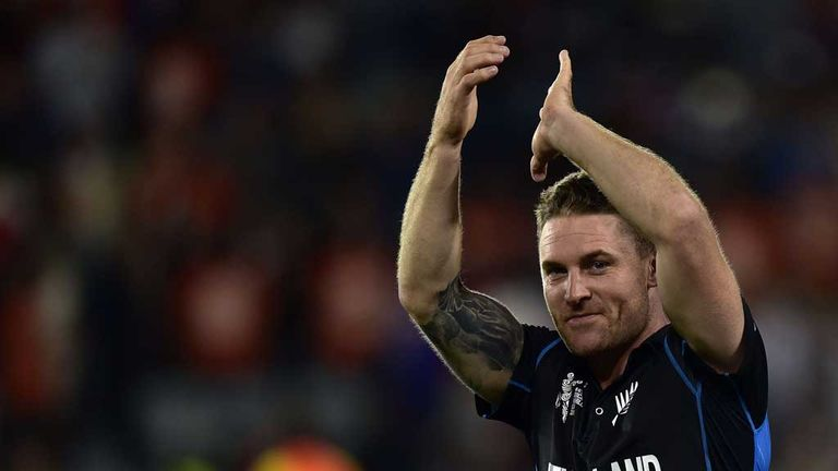 New Zealand captain Brendon McCullum: Named as skipper of the World Cup XI