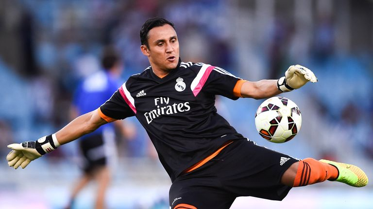 Keylor Navas was set to move to Manchester United as part of the deal