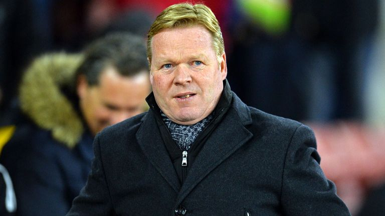 Ronald Koeman: The Europa League would represent success for Southampton