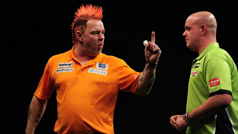 Peter Wright is highest-ranked player remaining at the World Grand Prix and has enjoyed a season to remember