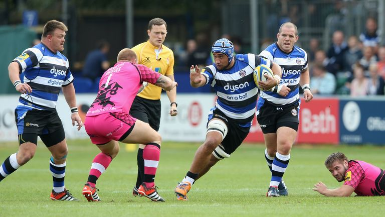 Leroy Houston: Returns at No 8 against London Welsh