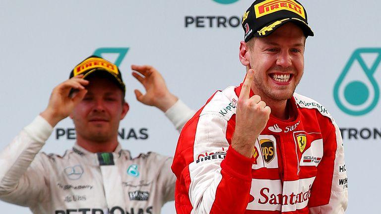 Malaysia GP: Sebastian Vettel beats Mercedes for first ...