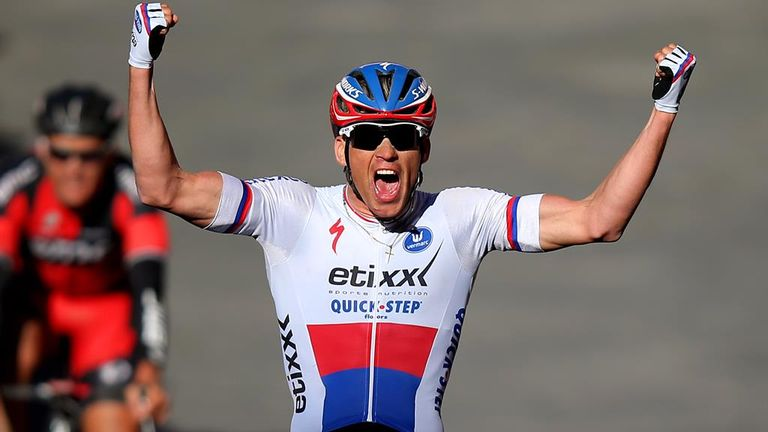 Zdenek Stybar took a solo win at Strade Bianche
