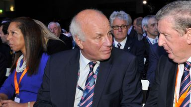 Greg Dyke (left): Calling for unified stance from UEFA