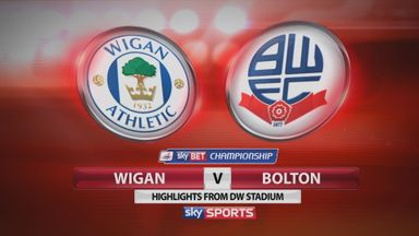 Wigan 1-1 Bolton